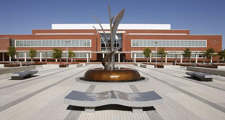 Richmond Civic Center Fountain