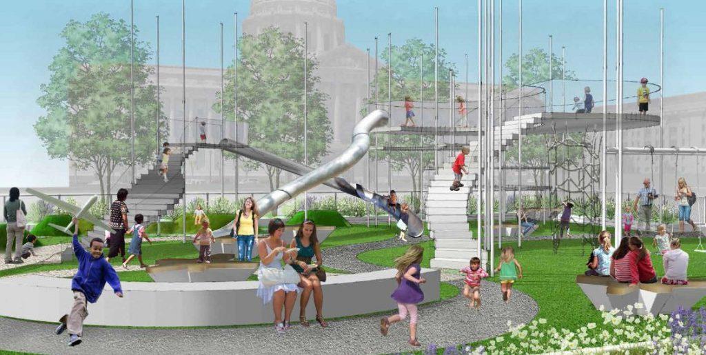 Civic Center Playground