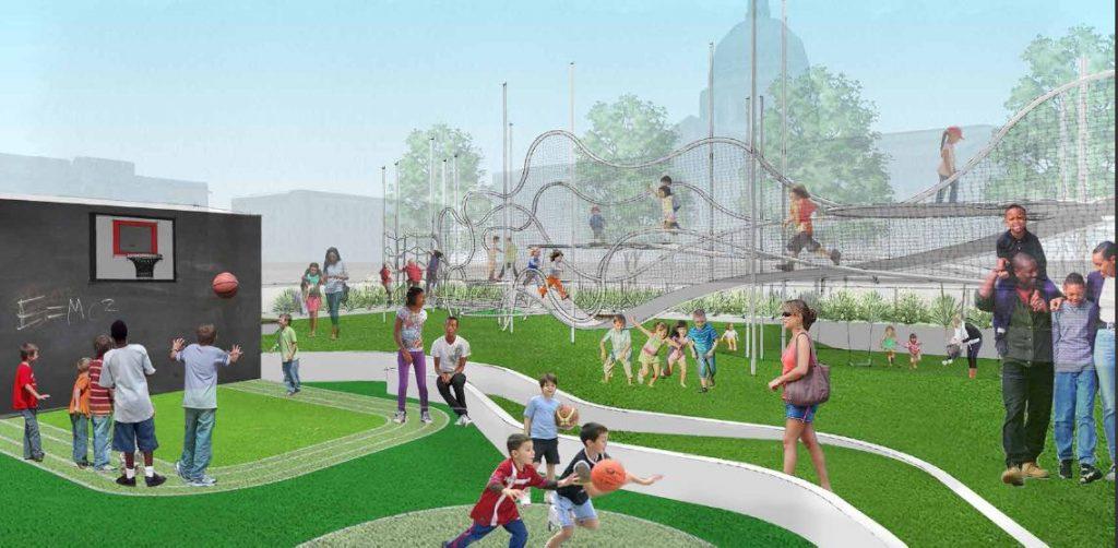 Civic Center Playground3