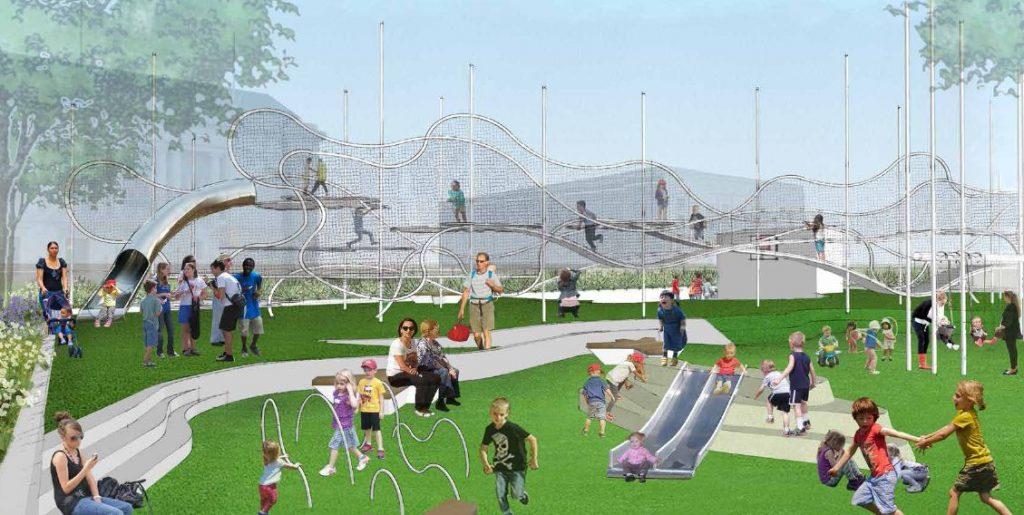 Civic Center Playground4